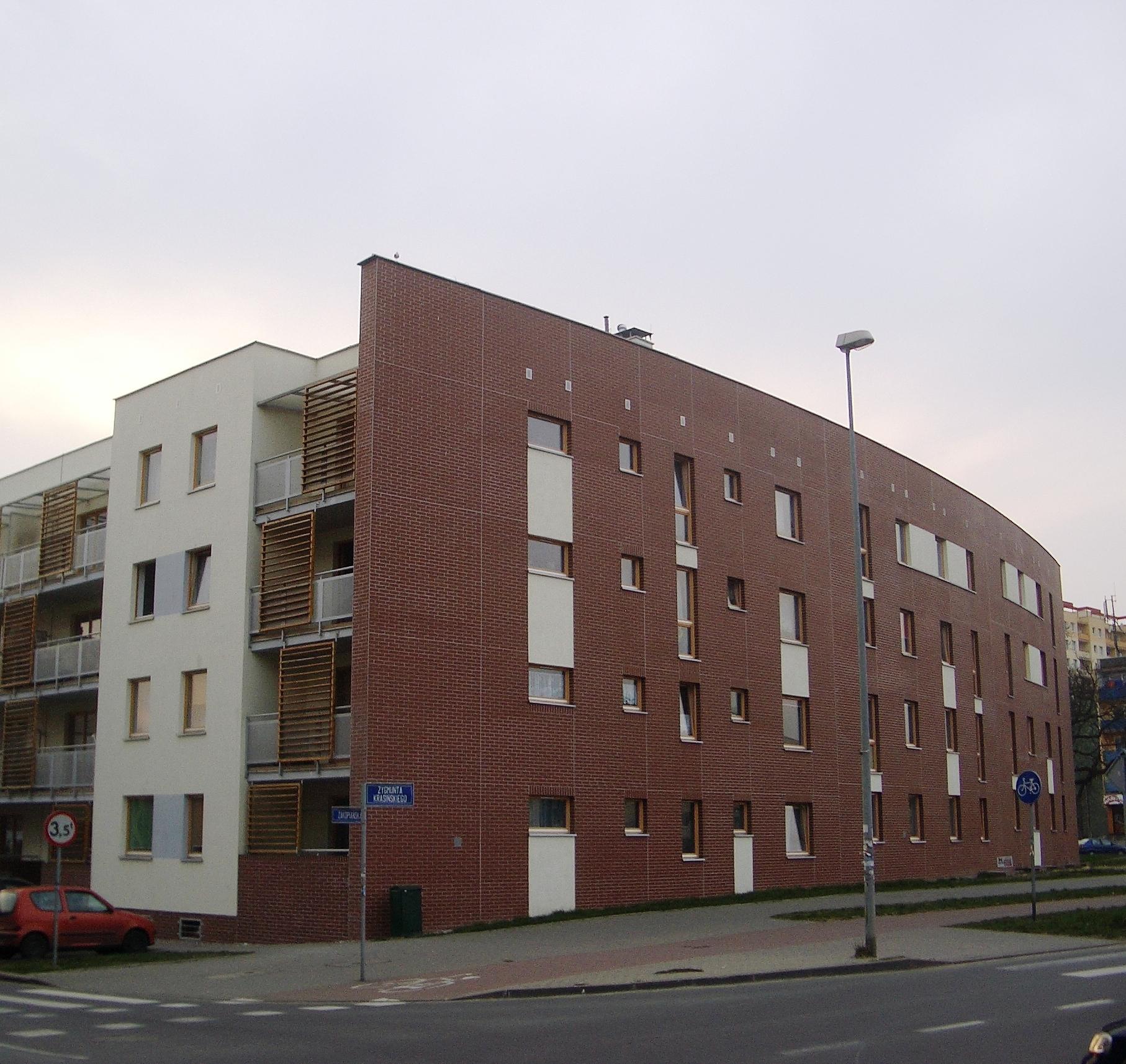 woonblok Zakopianski straat